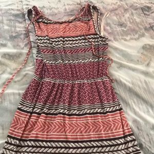 Loft knee-length dress